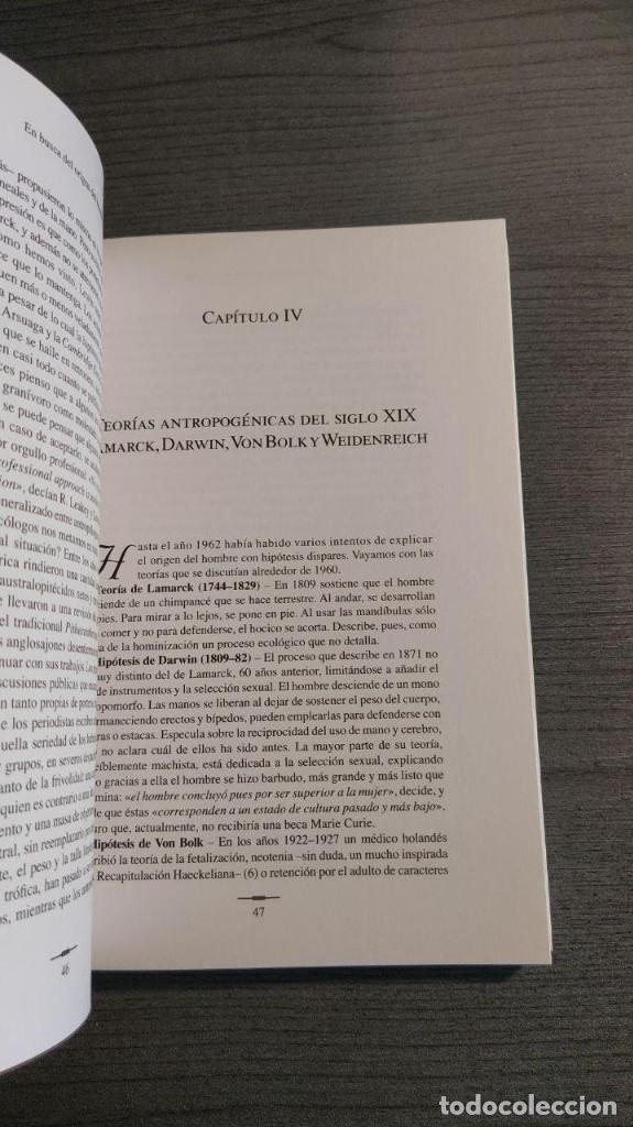 Libros: Hominizacion. Buscando nuestras raices . Jose Valverde (Autor). CSIC. Editor: Quercus - Foto 7 - 178055634