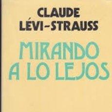 Libros: MIRANDO A LO LEJOS. Lote 182203262