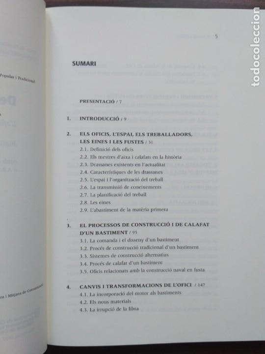 Libros: DE QUILLA A PERILLA. LOFICI DELS MESTRES DAIXA A LA COSTA BRAVA - Foto 3 - 190125797