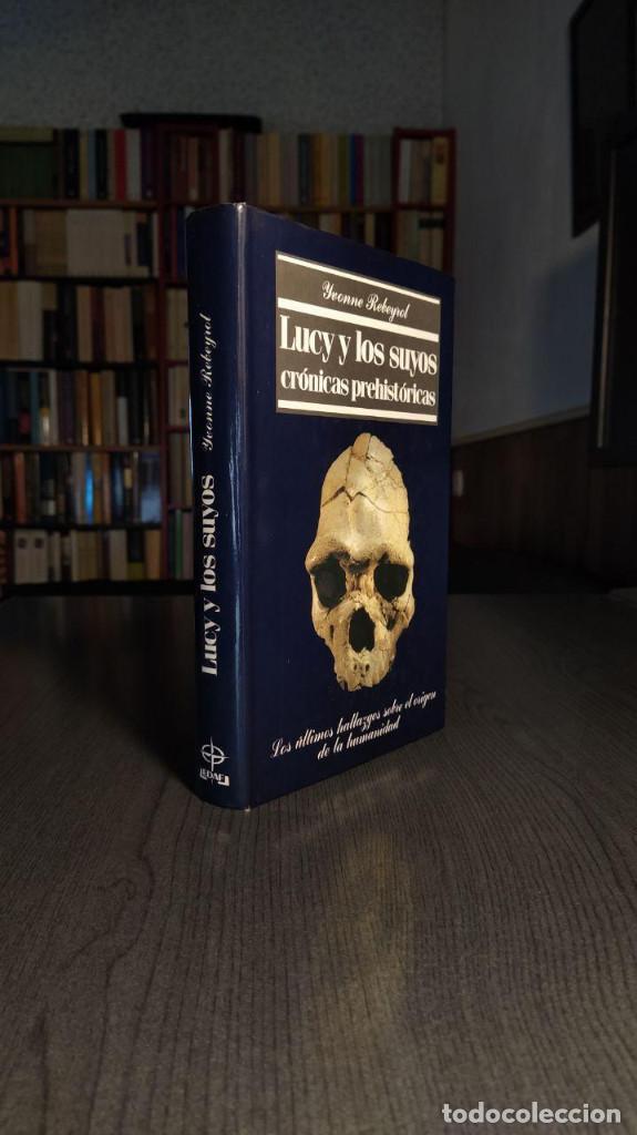 Libros: Lucy y los suyos: crónicas prehistóricas Yvonne Rebeyrol Edaf 1989 - Foto 9 - 193637110