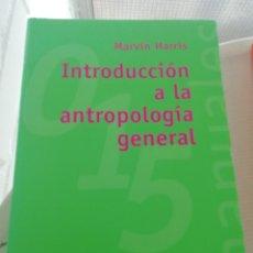 Libros: INTRODUCCIÓN A LA ANTROPOLOGÍA GENERAL. Lote 195076801