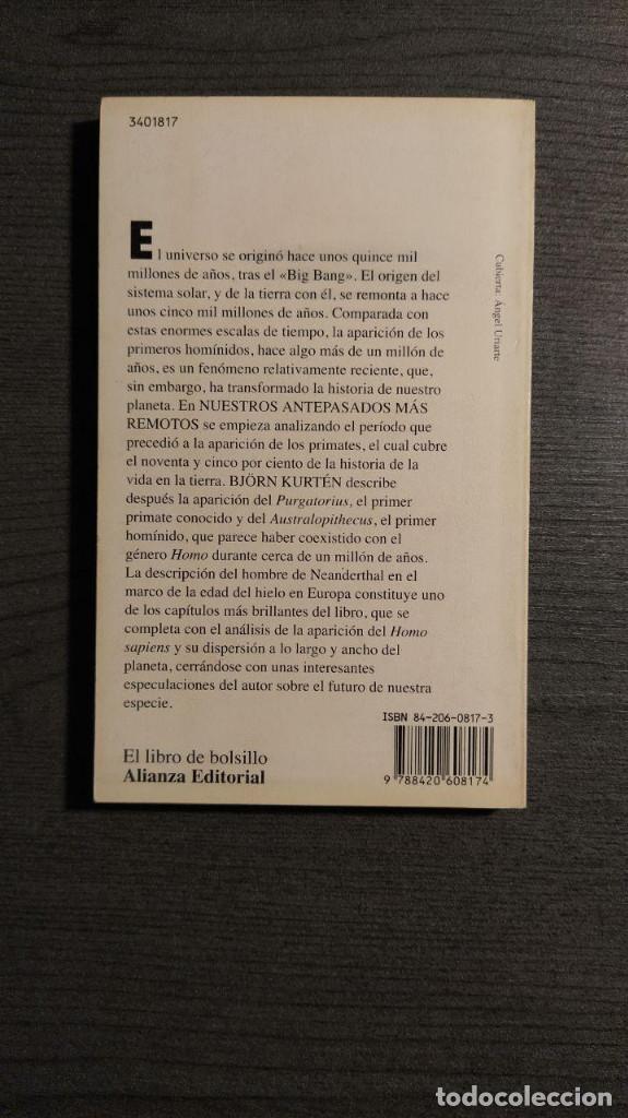 Libros: NUESTROS ANTEPASADOS MAS REMOTOS BJÖRN KURTEN ALIANZA EDITORIAL - Foto 3 - 195145141