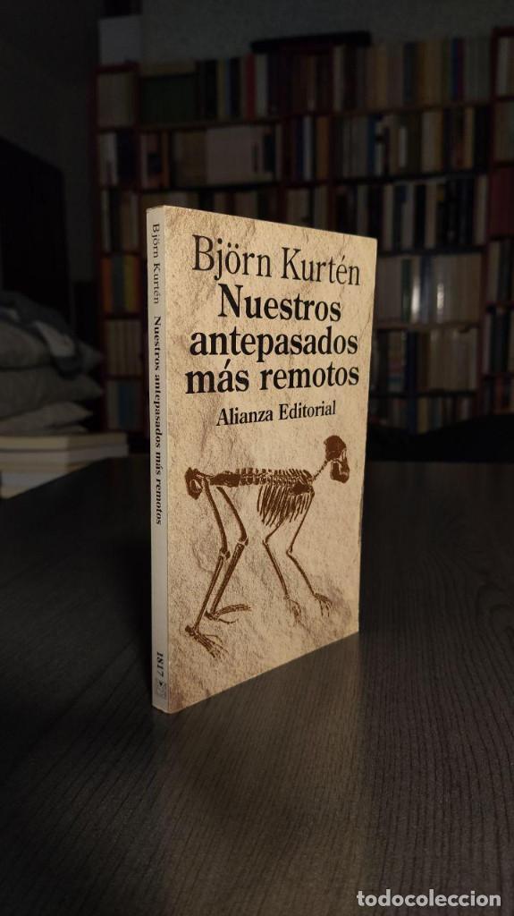 Libros: NUESTROS ANTEPASADOS MAS REMOTOS BJÖRN KURTEN ALIANZA EDITORIAL - Foto 5 - 195145141