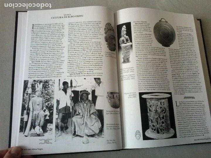 Libros: ARTE DEL ÁFRICA NEGRA. ANTONIO ACOSTA MALLO Y PILAR LLULL MARTÍNEZ DE BEDOYA. - Foto 8 - 199225231