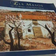 Libros: ELS MASOS. Lote 199417715