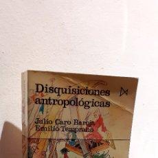 Libros: DISQUISICIONES ANTROPOLÓGICAS. Lote 207534528