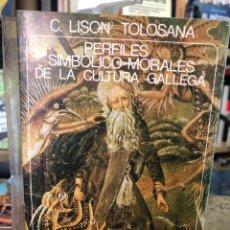 Libros: PERFILES SIMBÓLICO-MORALES DE LA CULTURA GALLEGA. Lote 207701843