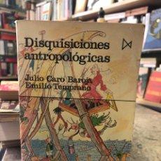 Libros: DISQUISICIONES ANTROPÓLOGICAS. Lote 208226202