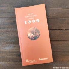 Libros: AGENDA DE LES TRADICIONS CATALANES 1999 DESCOBRIR - GENCAT. Lote 210685389