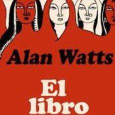Libros: EL LIBRO DEL TABÚ ALAN WATTS. Lote 221459921