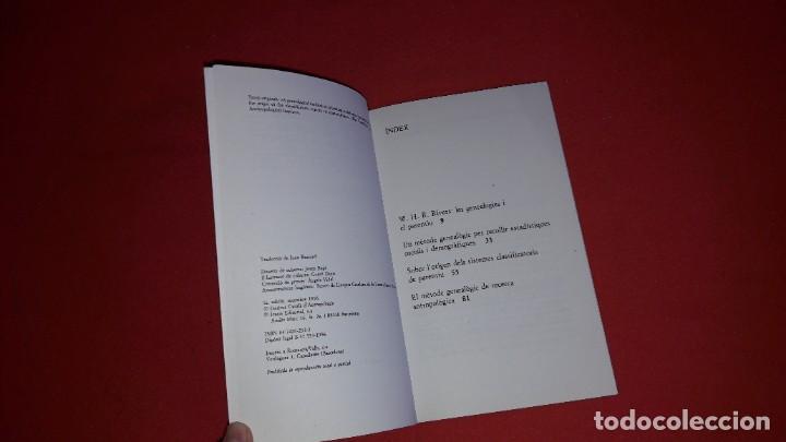 Libros: EL MÈTODE GENEALÒGIC I LORIGEN DELS SISTEMES CLASSIFICATORIS DE PARENTIU. WILLIAM H.R.RIVERS - Foto 2 - 222313200