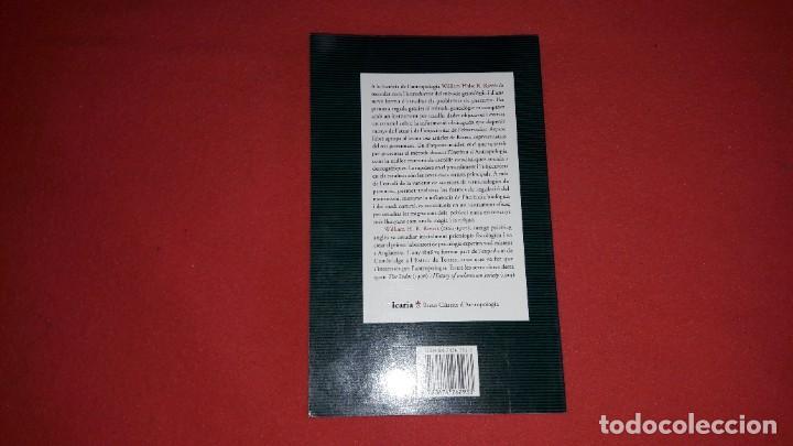 Libros: EL MÈTODE GENEALÒGIC I LORIGEN DELS SISTEMES CLASSIFICATORIS DE PARENTIU. WILLIAM H.R.RIVERS - Foto 3 - 222313200
