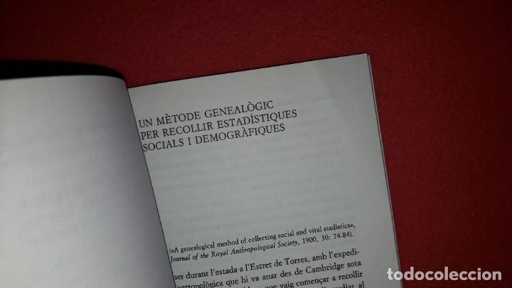 Libros: EL MÈTODE GENEALÒGIC I LORIGEN DELS SISTEMES CLASSIFICATORIS DE PARENTIU. WILLIAM H.R.RIVERS - Foto 5 - 222313200