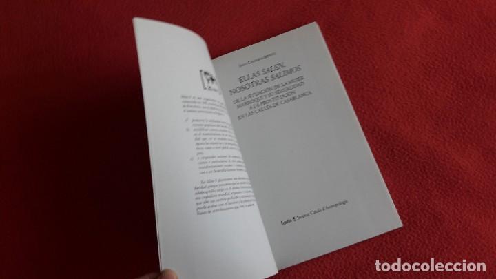 Libros: ELLAS SALEN. NOSOTRAS SALIMOS. SARA CARMONA BENITO. - Foto 2 - 222318467