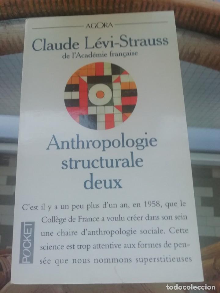 ANTHROPOLOGIE STRUCTURALE (RESUMEN) EN FRANCÉS (Libros Nuevos - Humanidades - Antropología)