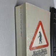 Libros: ANTROPOLOGÍA CULTURAL MARVIN HARRIS. Lote 227703484