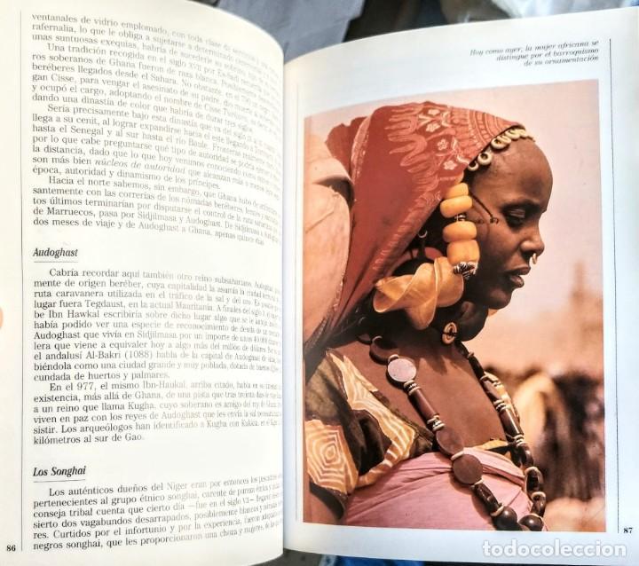 Libros: LAS CULTURAS AFRICANAS.HISTORIAS DEL NUEVO MUNDO Nº 14.GOMEZ TABANERA - Foto 3 - 251627960