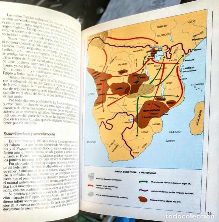 Libros: LAS CULTURAS AFRICANAS.HISTORIAS DEL NUEVO MUNDO Nº 14.GOMEZ TABANERA - Foto 4 - 251627960