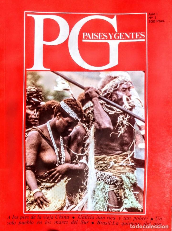 PAISES Y GENTES.LOS MARES DEL SUR.Nº 1 (Libros Nuevos - Humanidades - Antropología)