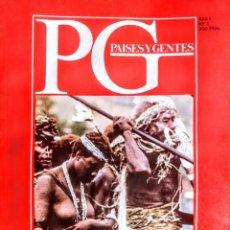 Libros: PAISES Y GENTES.LOS MARES DEL SUR.Nº 1. Lote 251628385