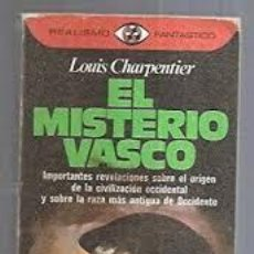 Libros: EL MISTERIO VASCO LOUIS CHARPENTIER. Lote 252784750