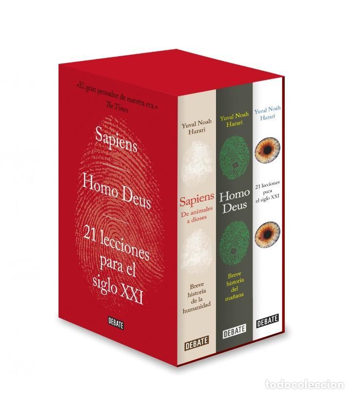 SAPIENS. HOMO DEUS. 21 LECCIONES PARA EL SIGLO XXI ESTUCHE NOAH HARARI, YUVAL EDITORIAL DEBATE (Libros Nuevos - Humanidades - Antropología)
