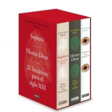 Libros: SAPIENS. HOMO DEUS. 21 LECCIONES PARA EL SIGLO XXI ESTUCHE NOAH HARARI, YUVAL EDITORIAL DEBATE. Lote 255471030