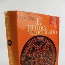 Libros: EL PRIMER AMERICANO C W CERAM. Lote 260533630