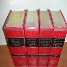 Libros: DICCIONARIO ONOMÁSTICO Y HERÁLDICO VASCO / 4 TOMOS / JAIME DE QUEREXETA. Lote 261645765