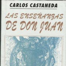 Libros: LAS ENSEÑANZAS DE DON JUAN / C. CASTANEDA.. Lote 268584174