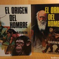 Libros: DARWIN. EL ORIGEN DEL HOMBRE. 2 TOMOS. Lote 269846458