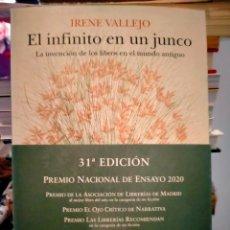 Libri: IRENE VALLEJO. EL INFINITO EN UN JUNCO .SIRUELA ENSAYO. Lote 273770958