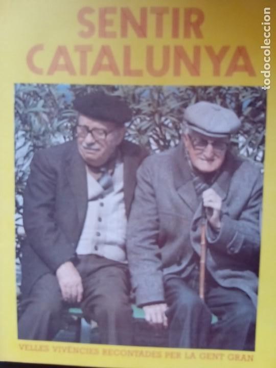 Libros: Sentir Calalunya, de la col.leccio Llegir i escoltar. Un recuerdo de 17 poblaciones catalanas - Foto 3 - 276452343