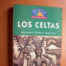 Libros: LOS CELTAS / MANUEL YAÑEZ SOLANA. Lote 277286228