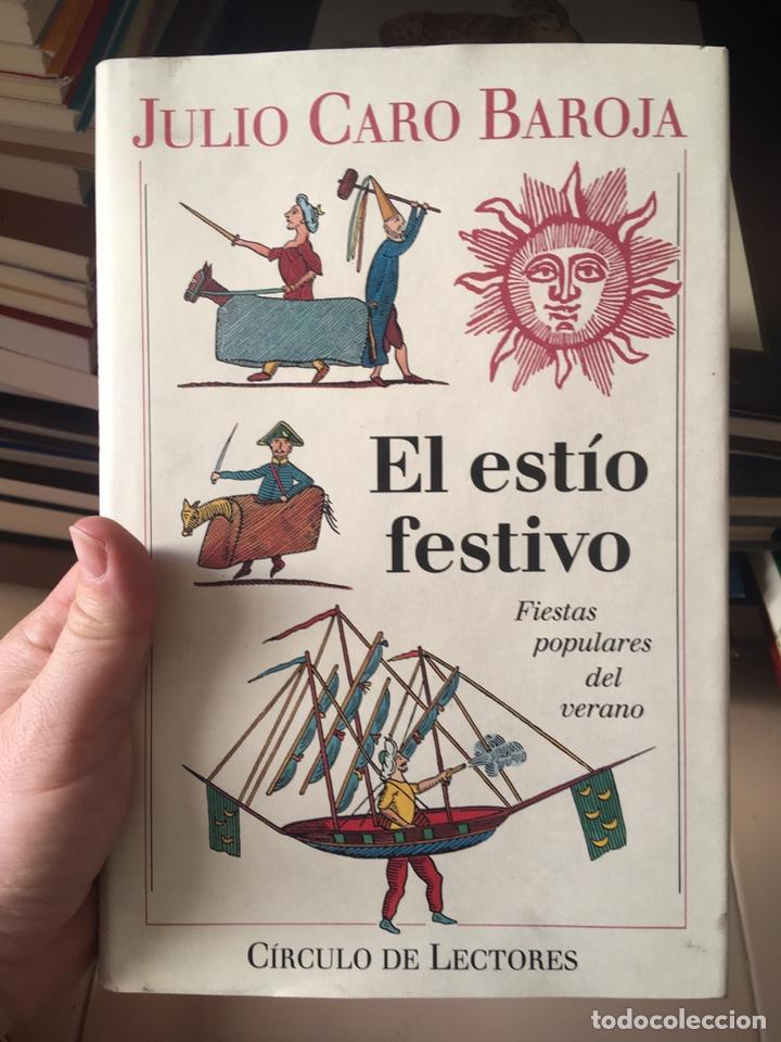 Libros: Julio Caro Baroja: el año festivo (3 vols.) - Foto 4 - 288502273