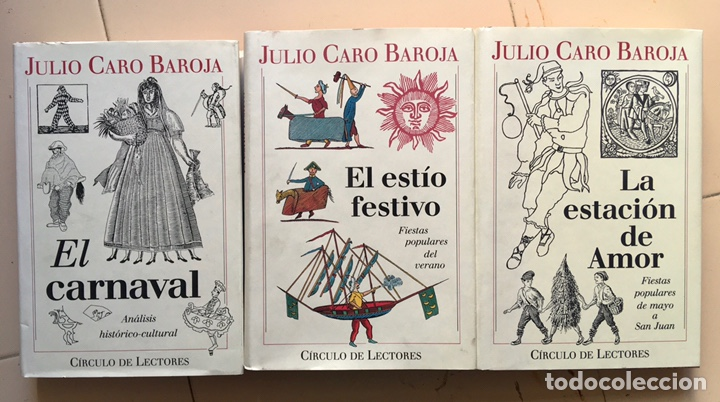 JULIO CARO BAROJA: EL AÑO FESTIVO (3 VOLS.) (Libros Nuevos - Humanidades - Antropología)
