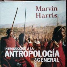 Libros: INTRODUCCIÓN A LA ANTROPOLOGÍA GENERAL. M. HARRIS. Lote 293352783