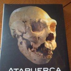 Libros: ATAPUERCA, PATRIMONIO DE LA HUMANIDAD : 30 AÑOS DE EXCAVACIONES Y DESCUBRIMIENTOS. PREHISTORIA. Lote 294443988