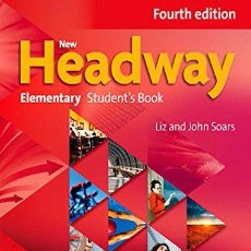 Libros: NEW HEADWAY ELEMENTARY FOURTH EDITION:STUDENT'S BOOK AND ITUTOR PACK- TAPA BLANDA (INGLÉS)+DVD. Lote 107018570