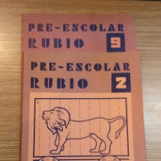 Libros: CALIGRAFÍAS PRE-ESCOLAR RUBIO NUEVAS AÑOS 70. Lote 208153700