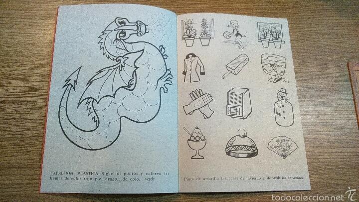 Libros: Caligrafías Pre-escolar Rubio Nuevas Años 70 - Foto 2 - 69895333