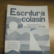 Libros: ESCRITURA COLASÍN. NUEVA. 1983. SALVATELLA. Lote 54522134