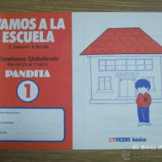 Livres: NUEVO. VAMOS A LA ESCUELA PANDITA 1. 1987. VICENS BÁSICA. Lote 54531817