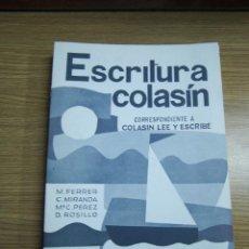 Libros: CARTILLA ESCRITURA COLASÍN Nº 2, NUEVO. ANTIGUO, DESCATALOGADO. ED. SALVATELLA. Lote 54534961