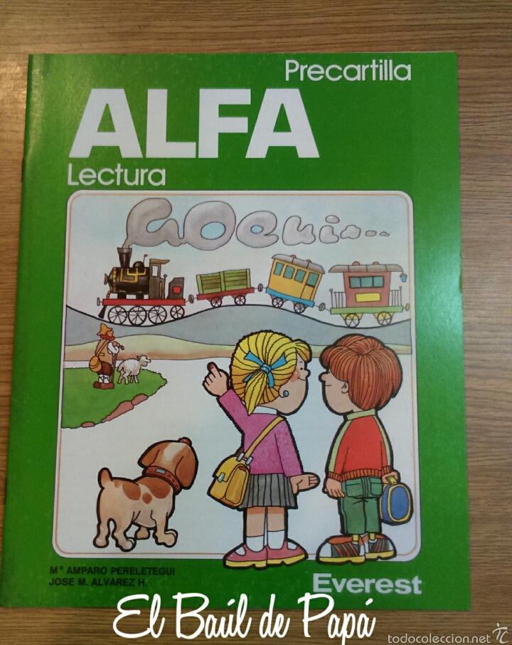 ALFA LECTURA, PRECARTILLA.NUEVA. 1986 DESCATALOGADO. EVEREST (Libros Nuevos - Educación - Aprendizaje)