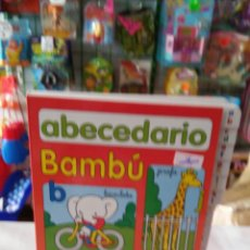 Libros: ABECEDARIO BAMBÚ INFANTIL.TODOLIBRO 90S.SIN USO.. Lote 89859744