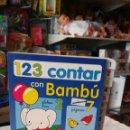 Libros: 123 CONTAR CON BAMBÚ INFANTIL.TODOLIBRO 90S.SIN USO.. Lote 158593909