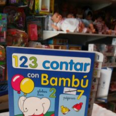 Libros: 123 CONTAR CON BAMBÚ INFANTIL.TODOLIBRO 90S.SIN USO.. Lote 89859772