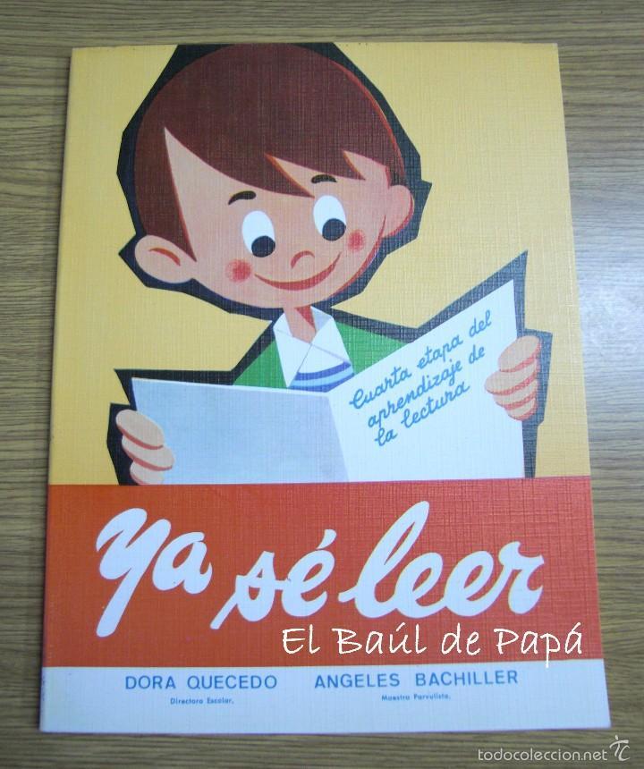 YA SÉ LEER, LIBRO AÑOS 80. NUEVO DE TIENDA. ED.SOL (Libros Nuevos - Educación - Aprendizaje)