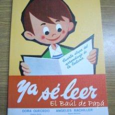 Libros: YA SÉ LEER, LIBRO AÑOS 80. NUEVO DE TIENDA. ED.SOL. Lote 58623552